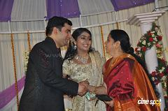 Actress Navya Nair Marriage Wedding reception Photos (34)