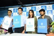 Navdeep Launches Quiclo App Photos