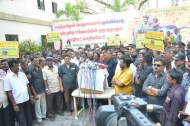 Film Industry Protest Against The Ban Of Jallikattu Photos