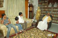 Prakashraj with CM and Balachandar