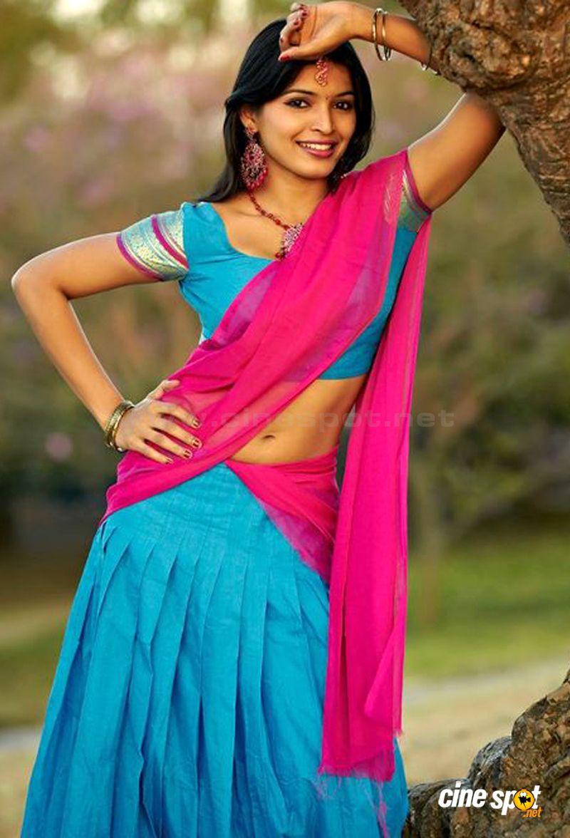 Indian Actress In Saree Collection Sanchita Shetty South