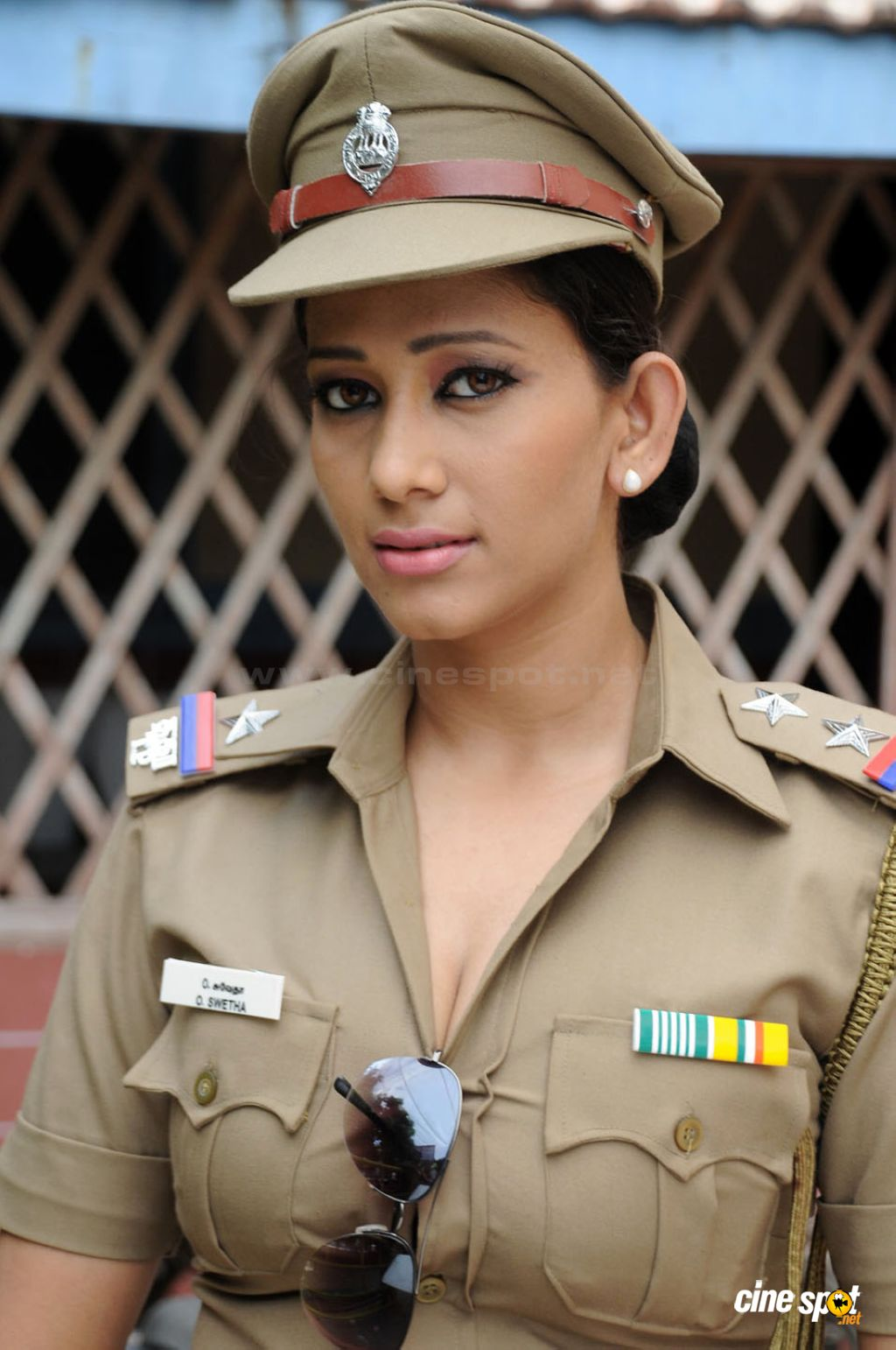 Sexy big boobs police officer 2 8