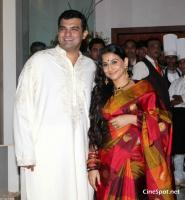 Vidya Balan & Siddharth Roy Kapur Wedding photos