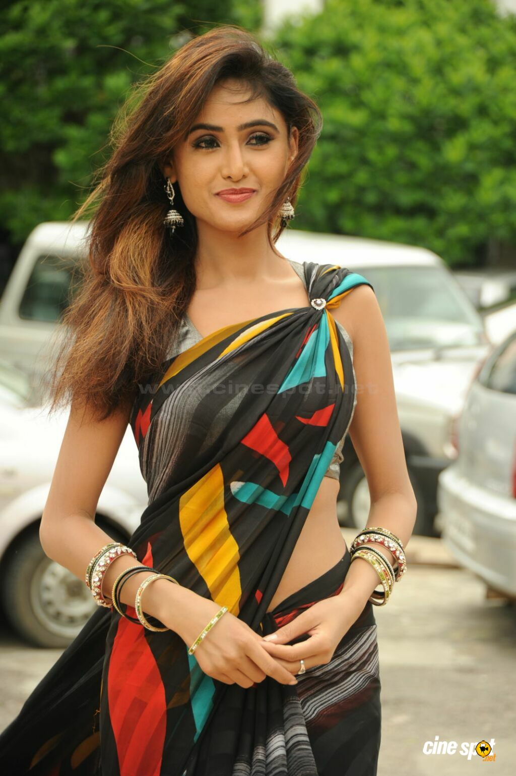 indian actress in saree collection: sony charishta south actress