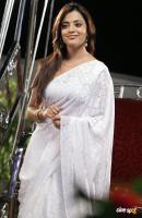 Nisha Agarwal white Saree Stills (3)