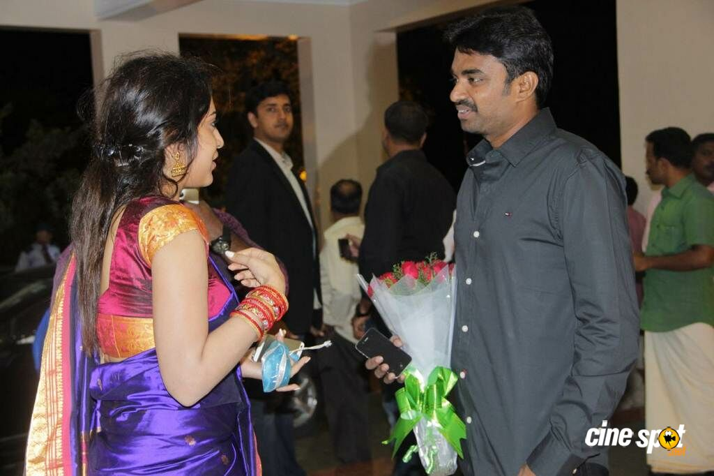 Lakshmi Ramakrishnans Daughter Wedding Reception Photos 18