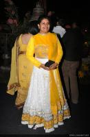 Thesni Khan at Jean Paul Lal Marriage Reception (11)