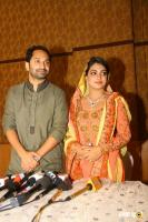Fahad fazil and nazriya engagement photos