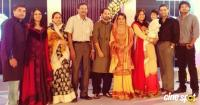 Nazriya and fahad family photo