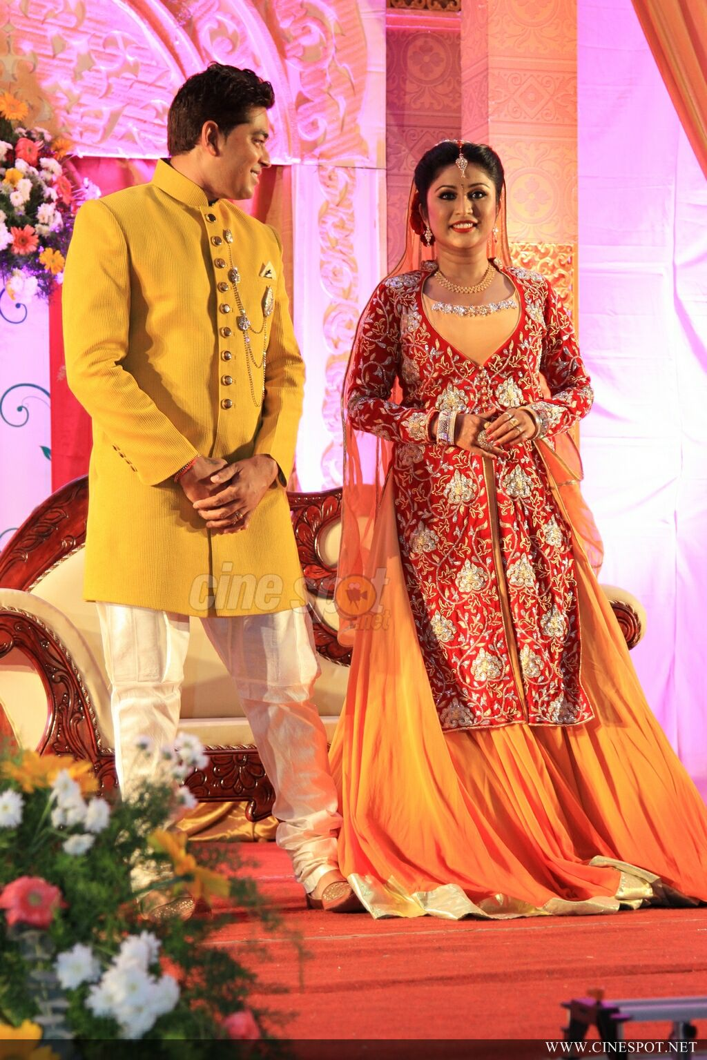archana suseelan marriage reception photos 166