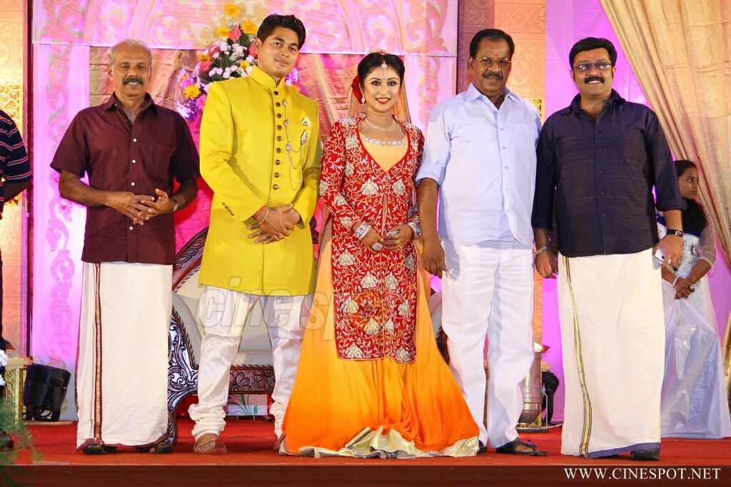 archana suseelan marriage reception photos 40