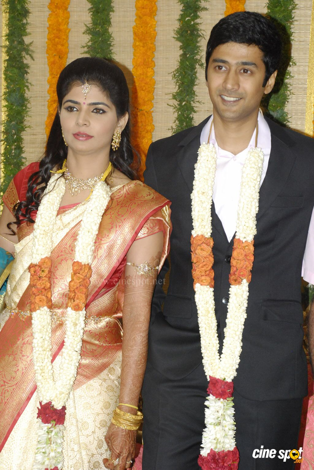 Chinmayi Rahul Ravindran Wedding Reception Stills 1