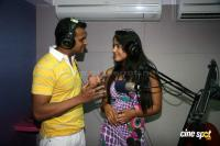 Sameera Reddy with Sidharth Kannan at Meow Fm station Event Photos
