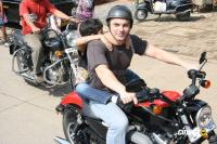 Sohail Khan with his son at Harley Davidson rally Event Photos