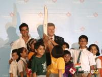 Akshay Kumar will carry Vancouver 2010 Olympic Torch Event Photos