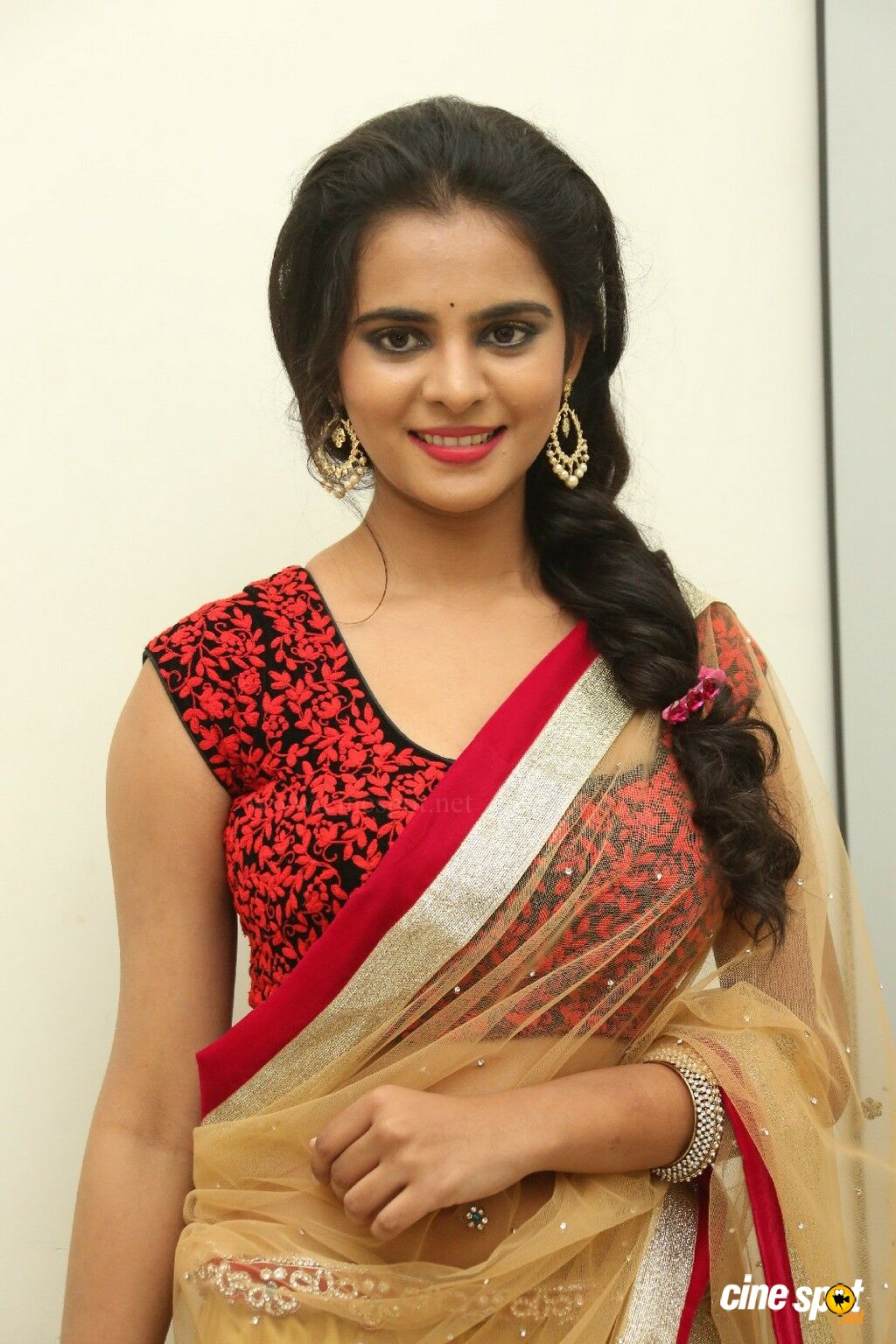 manasa at rowdy fellow audio launch  6