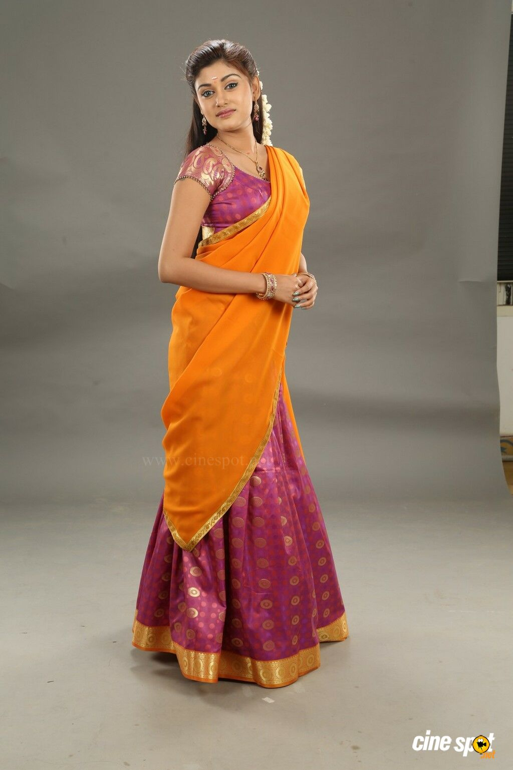 traditional half saree in bangalore dating