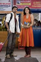 Movie Vijay Anushka in Vettaikaran Tamil Photos