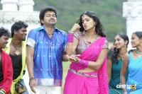New Photos Vijay Anushka in Vettaikaran Songs