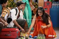 Vijay Anushka in Vettaikaran Movie Gallery