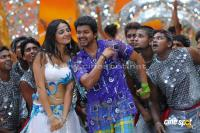 Vijay Anushka in Vettaikaran Movie Photos Stills
