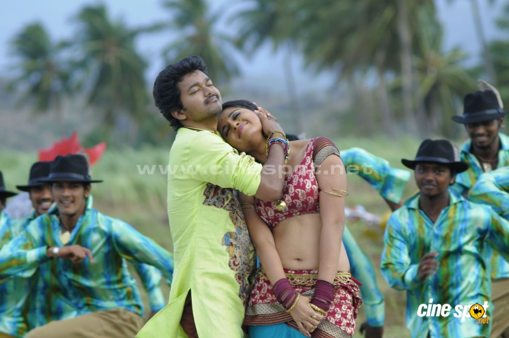 Vijay Anushka in Vettaikaran Songs new Photos