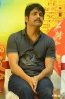 Nagarjuna at Om Namo Venkatesaya Success Meet (1)