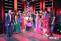 Rangoon On Set of The Voice India Season 2 Photos