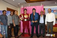 Mukesh Khanna Inaugurates His Website Shaktimaan Wax Statue Photos