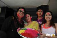 Govinda Celebrates Holi With His Family (9)
