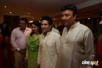 Sachin Tendulkar At Anu Malik hostes Jagrata Photos
