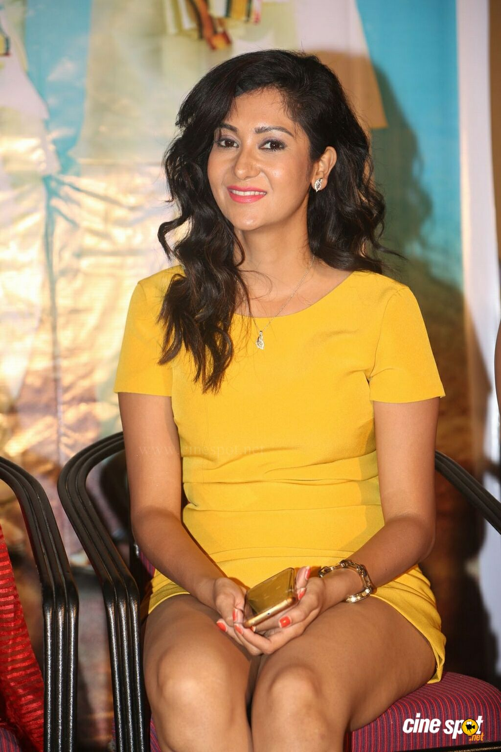 Sindhu Affan at Oollo Pelliki Kukkala Hadavidi Press Meet (2)
