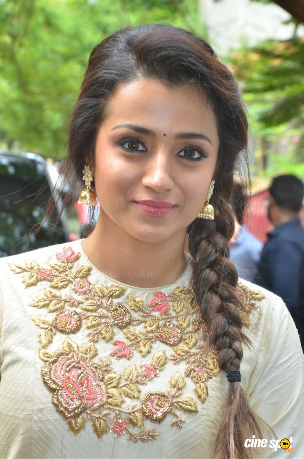 Trisha At 96 Movie Pooja 4