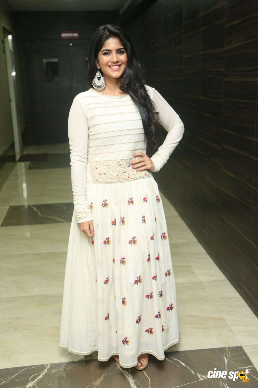 Megha Akash at LIE Pre Release Function (5)