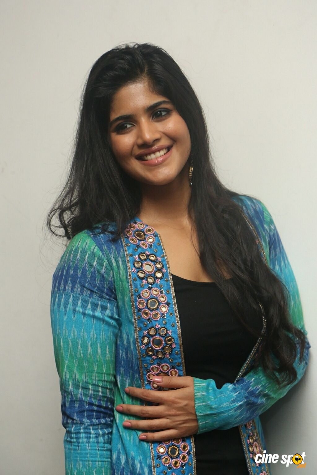 Megha Akash at LIE Movie Success Meet (3)