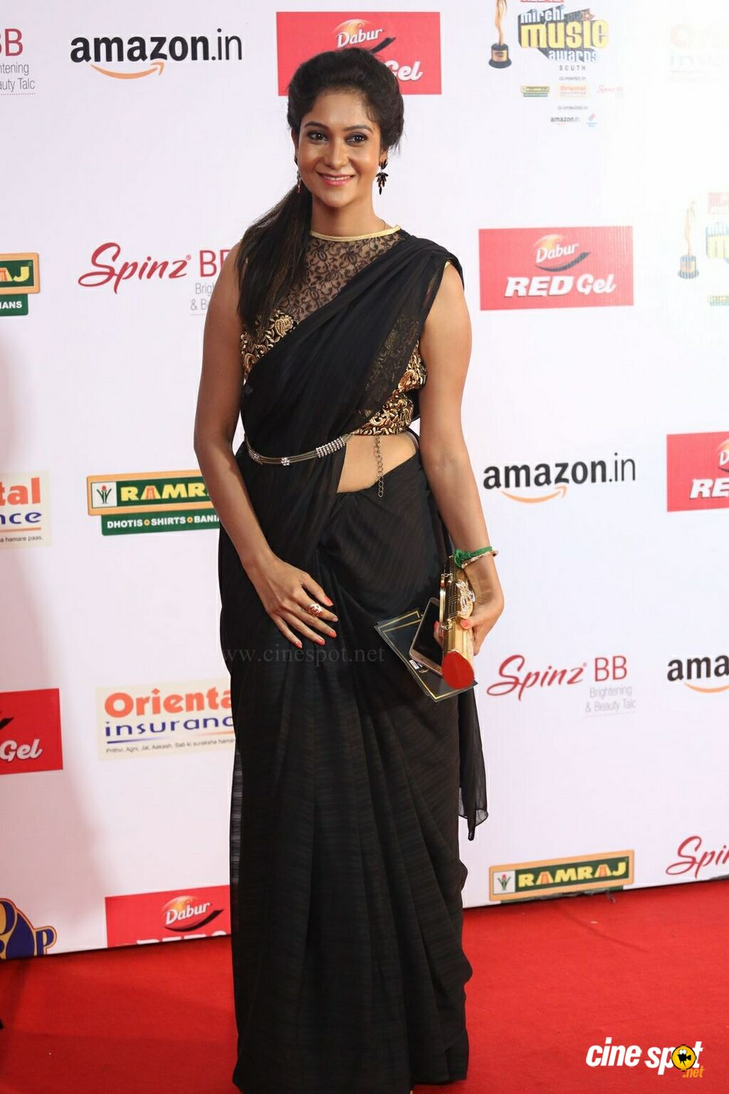 Sindhu Affan at Mirchi Music Awards 2017 (2)