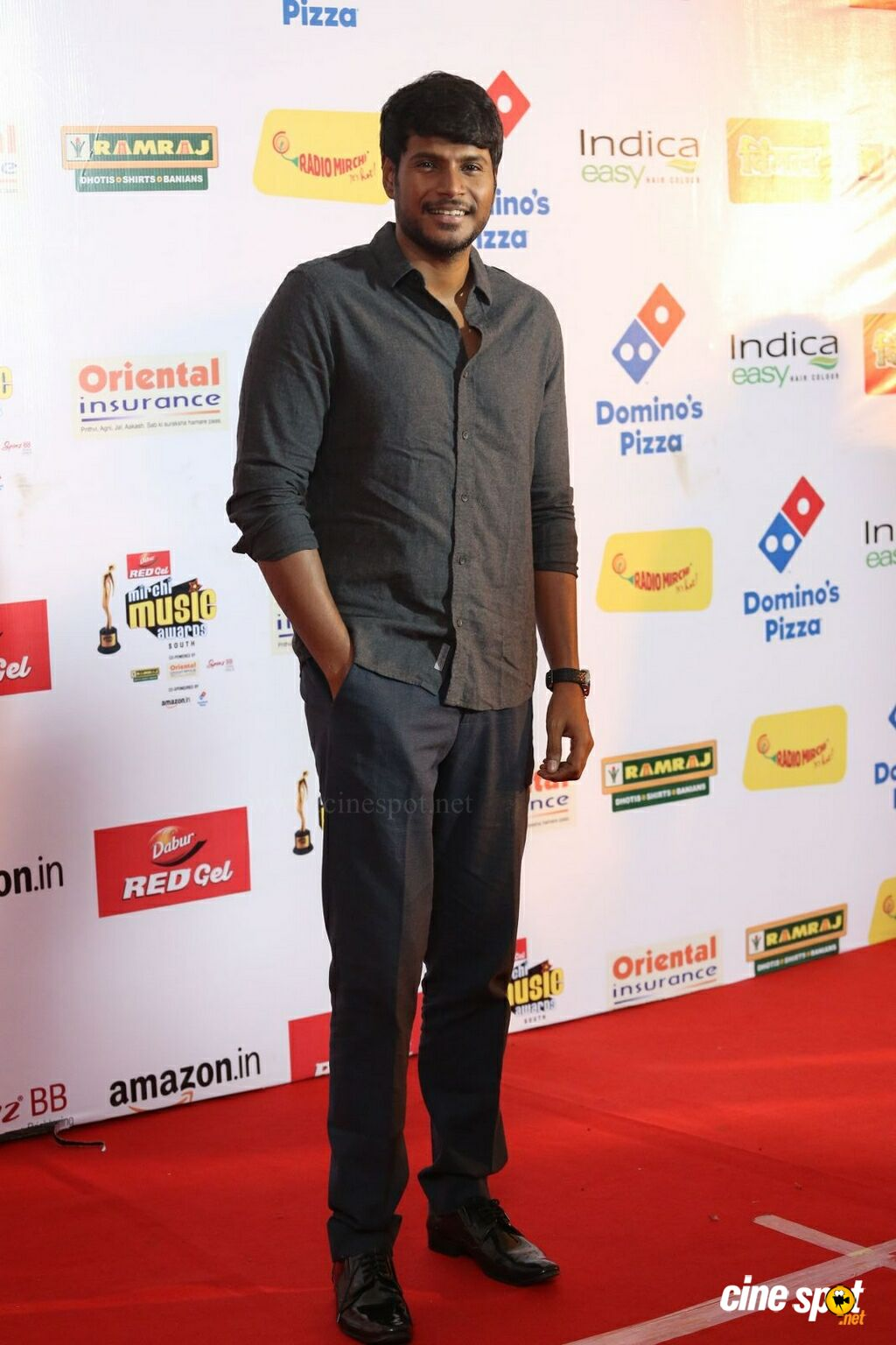 Sundeep Kishan at Mirchi Music Awards 2017 (5)
