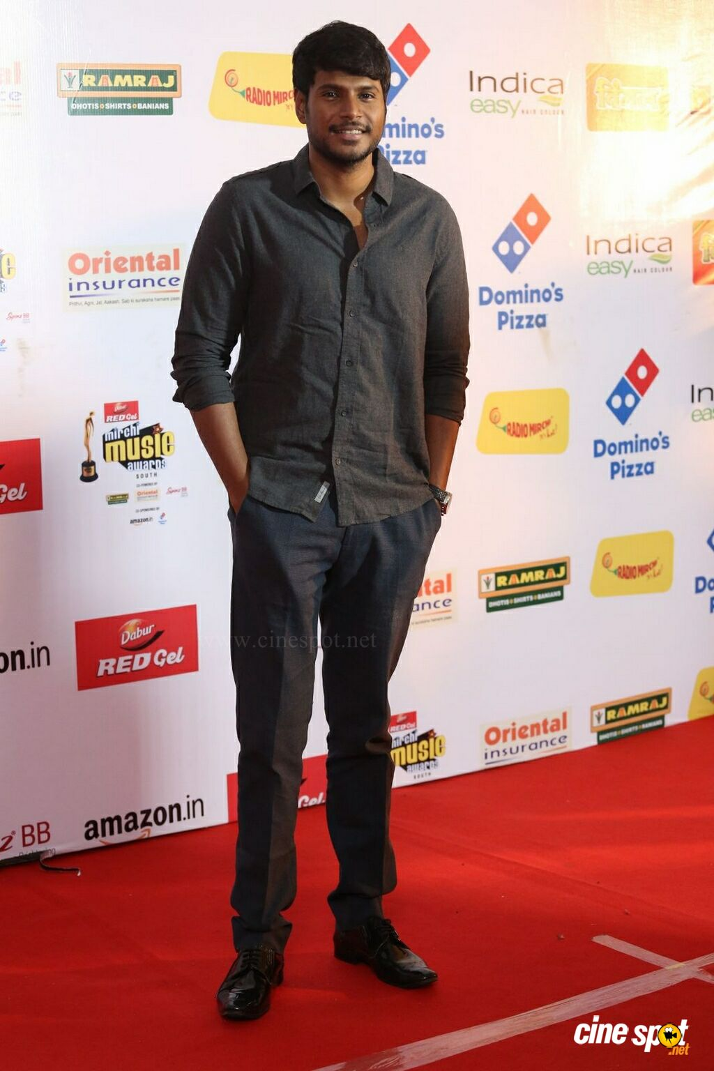 Sundeep Kishan at Mirchi Music Awards 2017 (7)