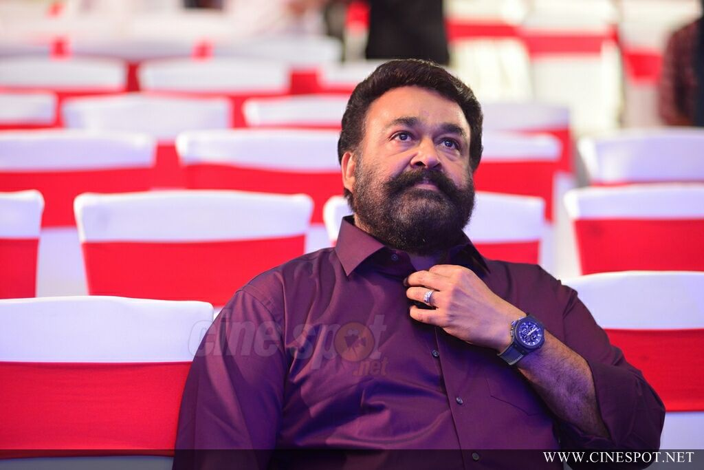 Mohanlal at Villain Audio Launch (2)