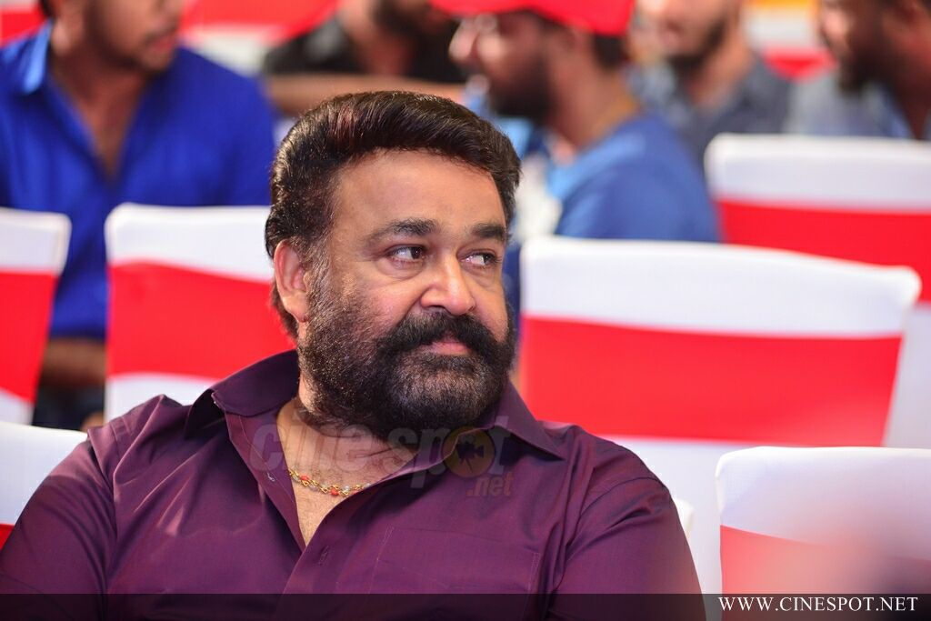 Mohanlal at Villain Audio Launch (5)