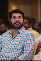 Mammootty at Shikari Shambu Movie Pooja (1)