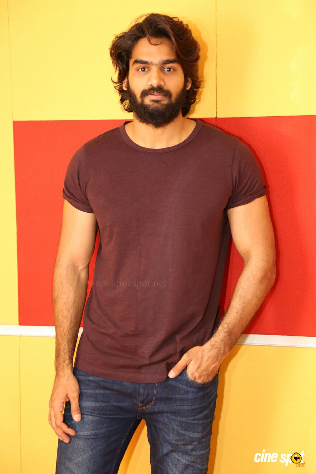 Karthikeya at RX 100 First Single Nippai Ragile Launch (1)