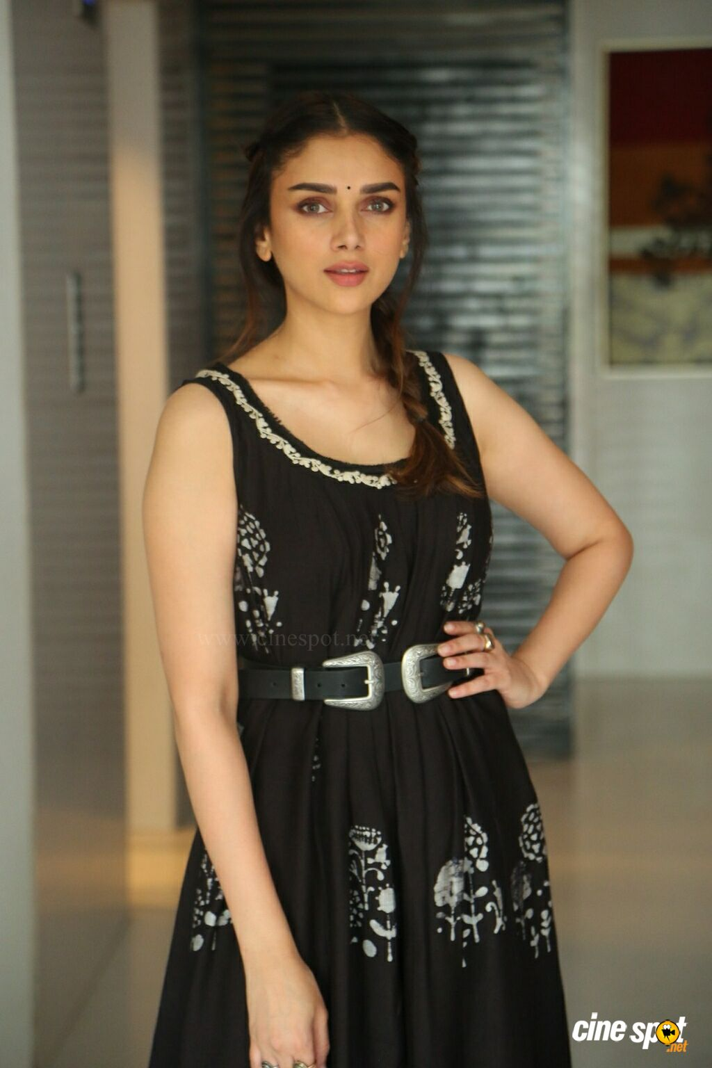 Sammohanam Heroine Aditi Rao Hydari Interview Photos (9)