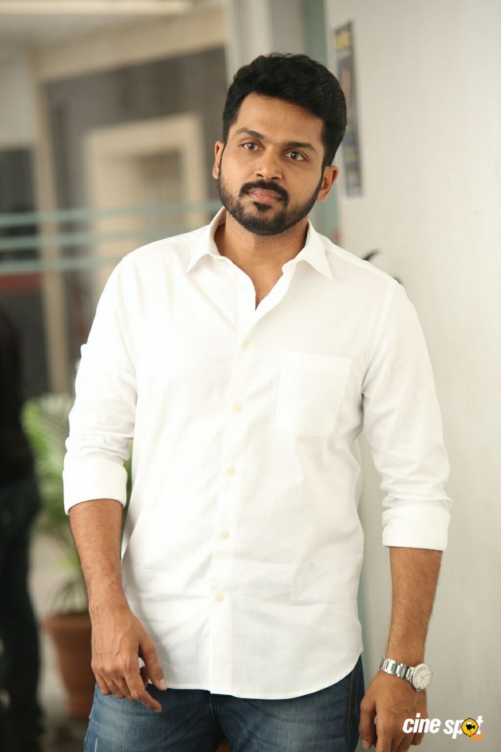 Karthi Interview Stills About Chinna Babu (4)
