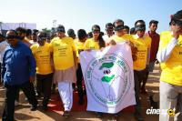 Niharika Flags Off Sight A Thon Blindfold 2k Walk Photos