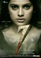 Nandita Swetha First Look Poster From Seven Movie