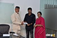 Rajasekhar & Jeevitha Donates 10 Lakhs Rupees For Cyclone Titli Victims Photos