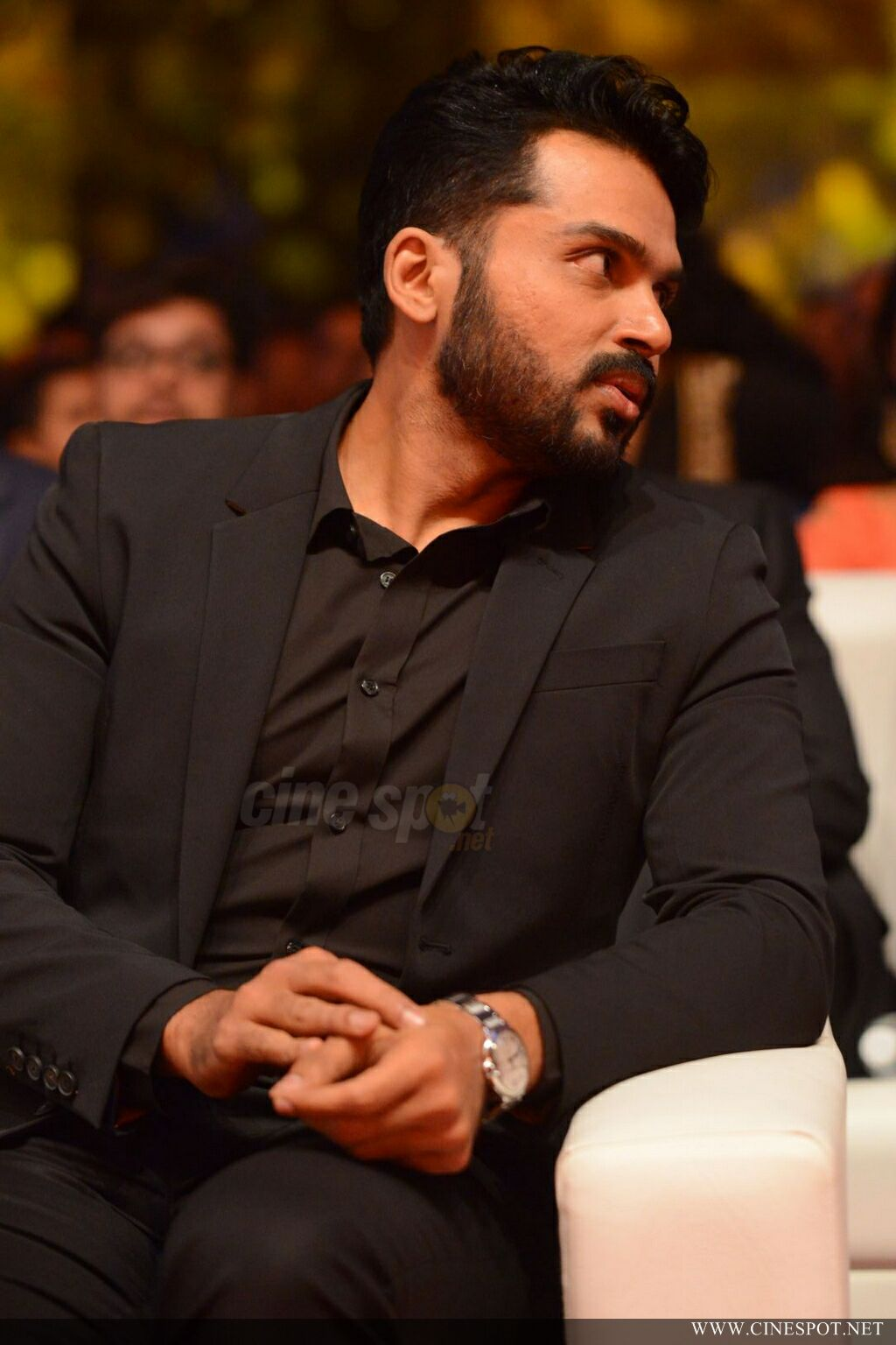 Karthi at Zee Keralam Channel Launch (4)
