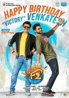 Birthday Wishes To Victory Venkatesh From F2 Team Poster