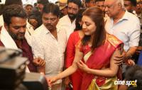 Kajal Aggarwal Launches Mangalya Shopping Mall Photos